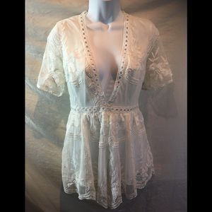 Gorgeous LF Seek The Label lace Romper